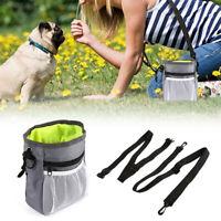 Pet Dog Pouch Dog Training Treat Bag Pocket Pouch Interactive Waist Bag e