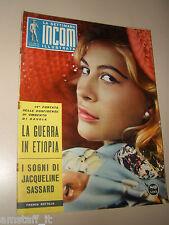 INCOM 1959/2=FRANCA BETTOJA=CALENDARIO PIAGGIO=TEATRO DELLA COMETA=VIAREGGIO=