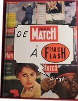 TINTIN étude. De Paris Match à Paris Flash. Album cartonné 64 pages. Par Airgé.