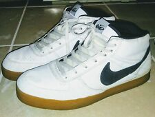 Nike 6.0 MAVRK MID 2 Men's Shoes White Gum Sole Size 12