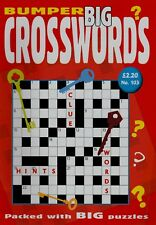 Bumper Big Crosswords. Vol 103. Packed With Big Puzzles