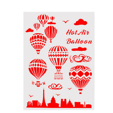 layering stencil for wall painting scrapbooking stamp decor balloon template SZT
