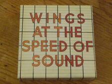 Paul McCartney & Wings: Speed of Empty Promo Box [Japan Mini-LP no cd beatles Q