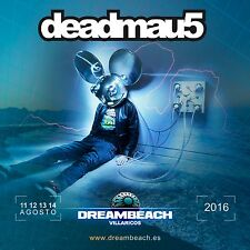 DEADMAU5 2016 SPAIN CONCERT TOUR POSTER- Progressive / Electro House, Electronic