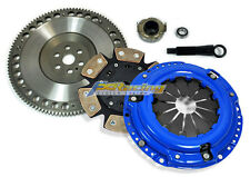 FX 6-PUCK CLUTCH KIT w/ RACE CHROMOLY FLYWHEEL 89-91 HONDA CIVIC CRX D15 D16