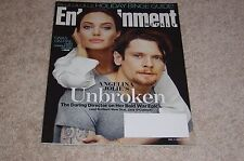 UNBROKEN * ANGELINA JOLIE * JACK O'CONNELL 2014 ENTERTAINMENT WEEKLY MAGAZINE