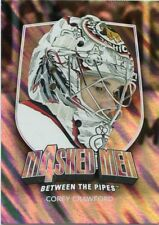 11/12 BETWEEN THE PIPES MASKED MEN 4 SILVER MASK #MM-13 COREY CRAWFORD *48308