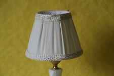 zauberhafter  eleganter  Lampenschirm Stoff mit Bordüre   5825.S16