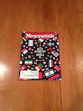 Newsweek Magazine The Best Country In The World Is.. August 23 & 30, 2010 issue