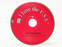 I Love the USA - Windows 7 Computer PC CD Game for Kids United States Capitol DK