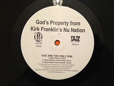 """GOD'S PROPERTY from Kirk Franklin's Nu Nation - You Are The Only One - 12"""" EXC+"""