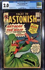 Tales To Astonish (1959) #44 CGC 2.0 1st app Wasp (0319871009)