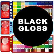 """4 roll 9"""" GLOSS BLACK or any 4 colors Adhesive Backed Vinyl, Craft & Sign Cutter"""