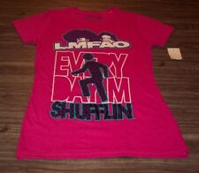 WOMEN'S TEEN LMFAO Every Day I'm Shufflin T-shirt LARGE NEW w/ TAG