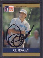 Gil Morgan 1990 PGA Tour Pro Set #51 Autographed Signed jhpsg