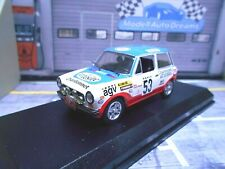 AUTOBIANCHI A112 A 112 Abarth #53 Monte Carlo 1978 Saby Esso agv Best 1:43