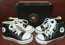 Converse All-Star baby and toddler shoes. Two Pairs Sizes 5 and 6 Fast Shipping