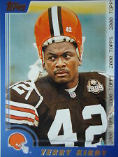 NFL 107 Terry Kirby Cleveland Browns Topps 2000