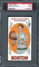 John Havlicek 1969 Topps Rookie Basketball Card #20 PSA 9 **HIGH-END**