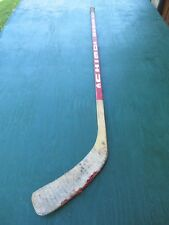 """Vintage Wooden 53"""" Long Hockey Stick Chimo Md 28 Ultra"""