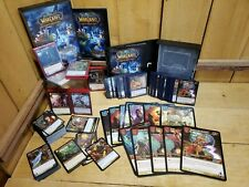 World Of Warcraft (WOW) TCG ~300+ 12 Lg Heroes of Azeroth Starter Decks 2006 LOT