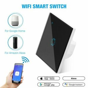 WiFi Smart Light Switch Wall Remote Touch Control for Amazon Alexa Google Home