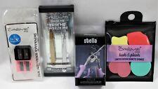 Beauty Tools 4 Piece Tweezer Set Cosmetic Sponge Pencil Sharpener Eyelash Curler