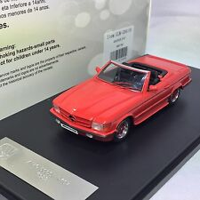 1/43 GLM Mercedes AMG 500SL R107 1983 Red Ltd 299 pcs #GLM206101