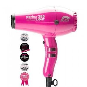 NEW, Parlux 385 Powerlight Ionic Ceramic Dryer 2150W - Fuchsia