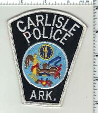 City of Carlisle Police (Arkansas) 2nd Issue Shoulder Patch