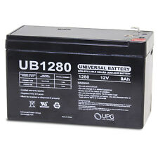 UPG Battery 12v 8ah BP7-12 GP1270 ES7-12 GC-1260 PM12-7 GP1272 NP7-12 PE6V7.2