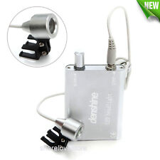 Portable LED HeadLight Lamp for Dentist Surgical Medical Binocular Loupe Battery
