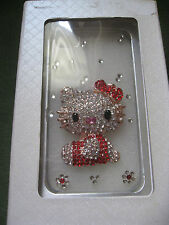 HELLO KITTY BEJEWELED JEWELED CLEAR CASE iPHONE 5 BRAND NEW