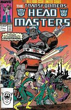 Transformers Comic issue 1 Headmasters Copper Age First Print 1987 Budiansky