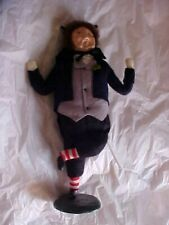 Byers Choice Caroler First Edition Mr Fizziwig 1985 Collectible Rare Striped Sox