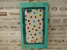 KATE SPADE i6 + Snap-On Cover HYBRID HardShell White iPhone 6 Plus Case BNIP