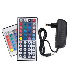 12V 2A 3A Power Adapter Remote Controller IR 24Key 44Key For SMD 5050 3528 strip