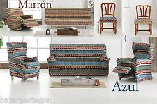 funda de sofa clic- clac relax xl, orejero, sillas,1,2,3,4 plazas tela elastica