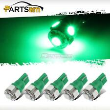 5x Green Roof Cab Marker Clearance LED Bulbs Lights for 1999-2014 FORD F250 F350