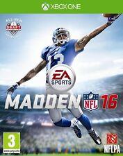 Jeu neuf XBOX One Madden NFL 16