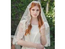 "Rainbow Club Dahlia Ivory Tulle Single Tier 30"" Womens Wedding Veil"