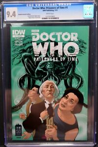 January 2013 DOCTOR DR. WHO Prisoners of Time #1 IDW CGC Universal Grade 9.4