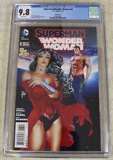 SUPERMAN/WONDER WOMAN (2013)  #3 CGC 9.8 Guillem March Variant Cover (DC Comics)