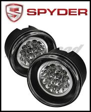 Spyder Jeep Grand Cherokee 05-09/Commander 06-08 LED Fog Lights w/Switch Clear
