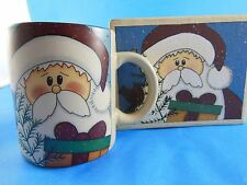 NIB Crazy Mountain Christmas Santa Mug in Gift Box