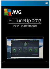 AVG PC TuneUp 2017 3 Geräte - 1 Jahr Download Win, Deutsch