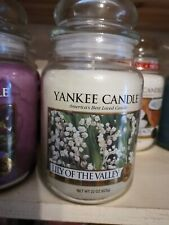 yankee candle lily of the valley large jar brand new