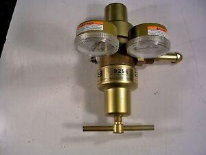 HARRIS 9296 MULTI STAGE REGULATOR METERS 0-60 PSI / 0-100 PSI MALE PIG TAIL