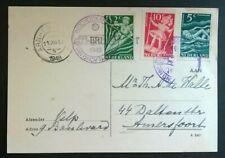 "Postcard Kinderzegels 1948 ""Autopostkantoor 11 dec 1948 Arnhem"" (v.d. Wart 339z)"