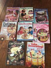 *8 Wilton Yearbook Cake Decorating Magazines 1980's Wedding Cakes Baking